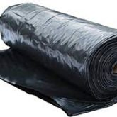Black Virgin Ground Cover sheeting